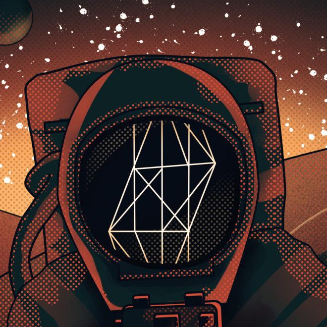Astronaut Close Up